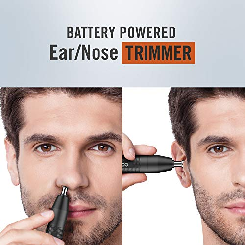ConairMAN Battery-Powered Ear/Nose Trimmer, Includes Detailer and Shaver Attachment