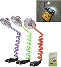 Worm Screen Light Led Illumination Night Lamp with Packing for GBC GBP for Nintendo Gameboy Color for Gameboy Pocket Console