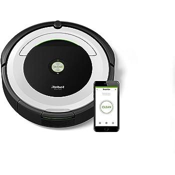 iRobot Roomba 691 Saugroboter, geeignet für Teppiche und Hartböden, Dirt Detect Technologie, 3-stufiges Reinigungssystem, App-Steuerung und WLAN, Staubsauger Roboter für Tierhaare, mit Zubehör
