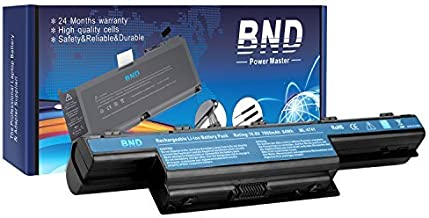 BND 7800mAH Laptop Battery Compatible with Acer AS10D31 AS10D51 Acer Aspire 5253 5251 5336 5349 5551 5552 5560 5733 5733Z Acer TravelMate 5740 5735 5735Z 5740G Gateway NV55C NV50A NV53A NV59C