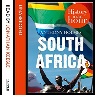 South Africa: History in an Hour audiobook cover art