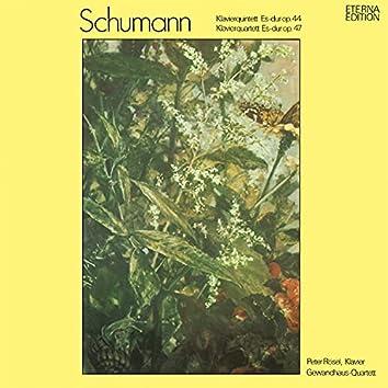 Schumann: Klavierquintett, Op. 44 / Klavierquartett, Op. 47