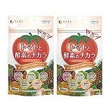 ファイン トマトと酵素のチカラ リコピン 植物酵素配合 国内生産 30日分 (1日3粒/90粒入)×2個セット