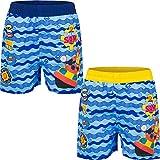 Sam Le Bompier Fireman - Pantalones cortos de baño para 3/4/5/6 años azul 5 años