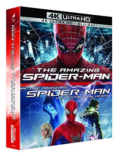 O Espetacular Homem Aranha 1 e 2 / Blu-ray 4k UHD ((áudio português BR))