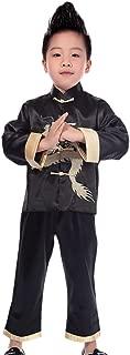 Treasure-box Cute Boys Satin Dragon Tangzhuang Chinese Kungfu Suit