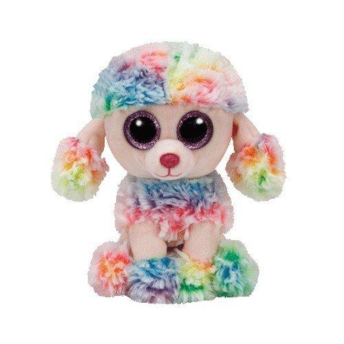 01cf4e299b8 Amazon.com  Ty Beanie Boo Rainbow Poodle Medium - 9