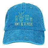 Jopath Don't Be A Prick-2 - Gorra de béisbol ajustable para hombre y mujer, gorra ajustable, azul, Talla única