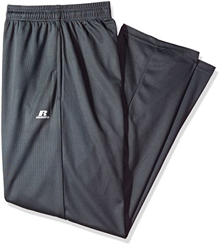 Russell Athletic Men's Big and Tall Dri-Power Pant, Charcoal, 4X