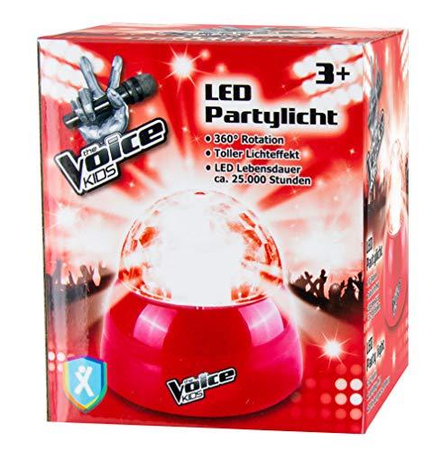 The Voice KIDS LED Partylicht Kinder Disco Licht