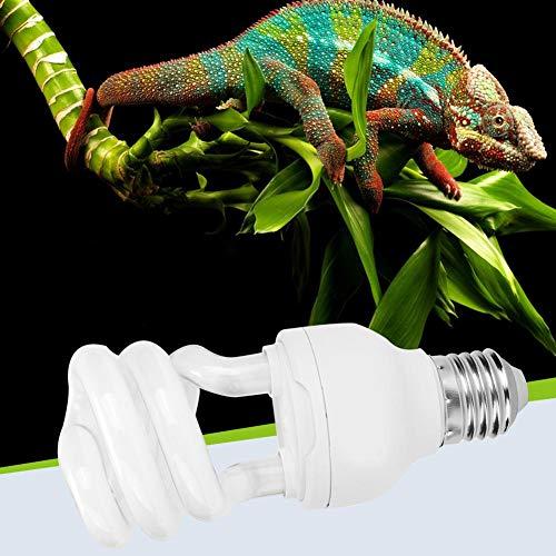 Taidda- 【Nuovo anno 2021】 Luce riscaldante rettili, luce UVB, 13 W per rettili (10.0)