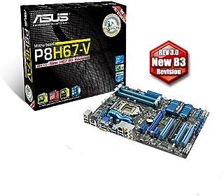 ASUSTek マザーボード Intel LGA1155/DDR3メモリ対応 ATX P8H67-V REV3.0
