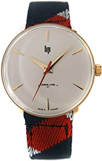 リップ LIP 腕時計 670005 パノラミック テキスタイルベルト クォーツ コミューン ドゥ パリ コラボモデル [並行輸入品]
