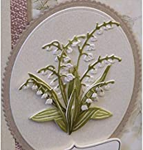 Cutting Dies Lily of The Valley Metal Cutting Dies Stencil for DIY Scrapbooking Paper Cards Making Decorative Crafts Supplies