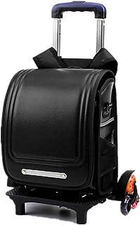 54b0308b071b HCC   Luminous Wheeled Backpack Waterproof Kids School Backpack Removable  Climbin