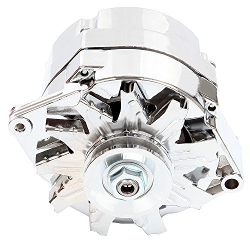 chrome alternator for car - 6