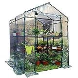 GRW-Tarpaulin Invernadero Jardinería Protección solar Balcón Protección de plantas suculentas A prueba de polvo, 3 colores, 2 tamaños (Color: Verde, Tamaño: 143x143x159 CM) Suministros de jardinería