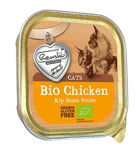 Renske kat graanvrij biologisch kip kattenvoer 85 GR
