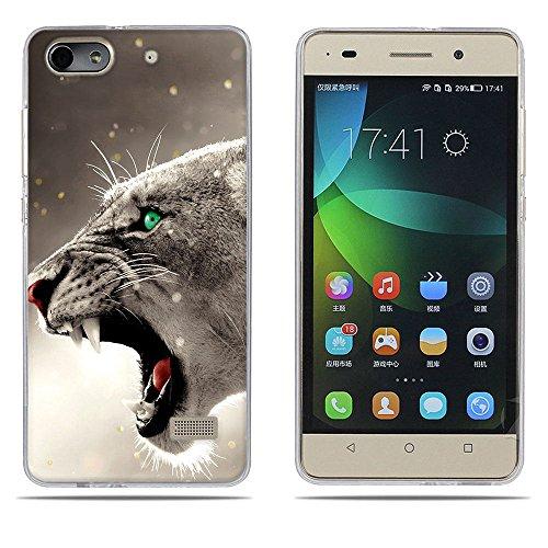 DIKAS Handyhülle für Huawei Honor 4C, Hülle für Huawei G Play Mini, TPU Softcase Silikon Tasche Anti-Scratch Telefon-Kasten Handyhülle Handycover für Huawei Honor 4C / für Huawei G Play Mini- Pic: 11