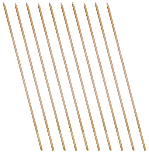 SchwabMarken Jonglierstäbe für Jonglierteller aus Holz oder Kunststoff in verschiedenen Mengen