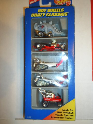 1996 Hot Wheels Crazy Classics Gift Pack