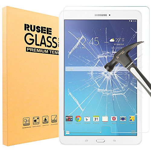 Rusee Galaxy Tab E 9.6 Pellicola Protettiva, Pellicola Protettiva in Vetro Temperato Protezione dello Schermo Protettore Glass Screen Protector Film per Samsung Galaxy Tab E 9.6   SM-T560 SM-T561