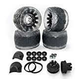 IWONDER Cloud Wheel Discovery 105mm/120mm for Exway Flex/Wave(44 Teeth) Boards Electric Skateboard Wheels and Pulley Conversion Kit