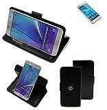 K-S-Trade Handy Hülle Für Huawei GT3 Flipcase Smartphone Cover Handy Schutz Bookstyle Schwarz (1x)