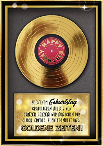 """bentino Geburtstagskarte XL mit Musik, DIN A4 Set mit Umschlag, hochwertige Grußkarte spielt""""Simply the BEST"""", Sound in toller HiFi Qualität, Glückwunschkarte aus der Serie""""Great Cards"""""""