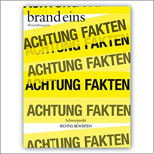 brand eins audio: Richtig bewerten audiobook cover art
