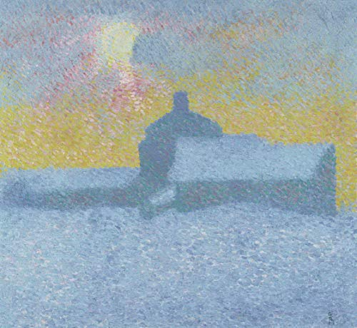 Berkin Arts Alberto Giacometti Giclee Print On Canvas-Famous Paintings Fine Art Poster-Reproduction Wall Decor(Winter in Maloja) Large Size 31.5 x 29 inches #DFB