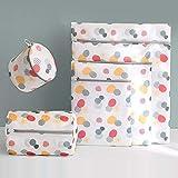 BEISKXMB Wäschenetz Fine Mesh Fine Mesh Dessous Wäschetasche BH Unterwäsche Designer Wash Bag Set Maschine Waschen Netztasche