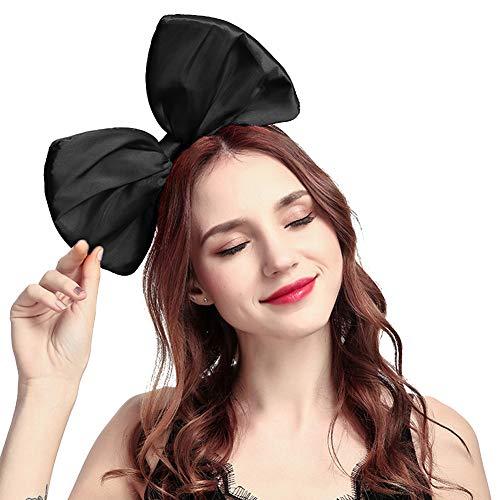 Women Huge Bow Headband Cute Bowknot Hair Hoop for Halloween Cosplay