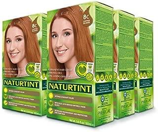 Naturtint Permanent Hair Color - 8C Copper Blonde, 5.6 fl oz (6-pack)