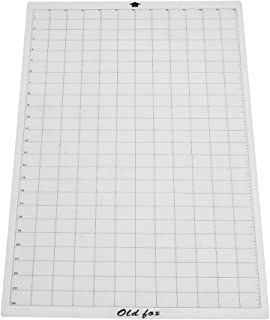 Aibecy Old Fox Replacement Cutting Mat Transparent Adhesive Mat with Measuring Grid 12 24 Inch StandardGrip Cutting for Silhouette Cameo Cricut Explore Plotter Machine, 1pcs