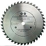 Inter-Craft Lama per sega circolare di alta qualità per legno, 400 x 32-30 mm, 40 denti