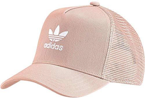 adidas Trefoil Trucker Cap – Damen one Size Dust Pink/Weiß.