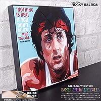 ROCKY BALBOA/ロッキー・バルボア/ポップアートパネル/Keetatat Sitthiket キータタット シティケット