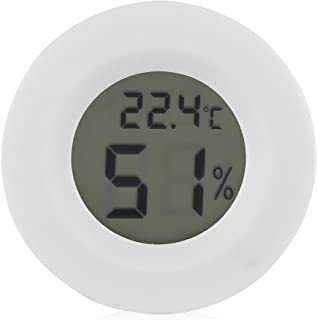 Mini Hygrometer Termometer Digital LCD-fuktighetsmätare för inkubatorer Reptil Cigar Humidors Aquariums