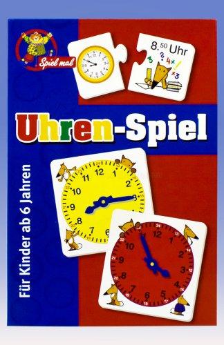 noris Spiel Mal-Uhren-Spiel-Lernspiel-My First Clock
