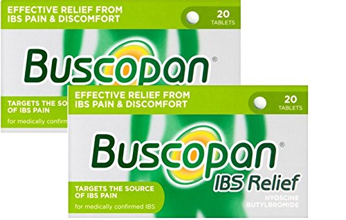 Buscopan IBS Relief Hyoscine Butylbromide 20 Tablets X 2