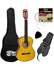 Tiger Pack de guitarra clásica española para niños, tamaño 3/4, de Mad About