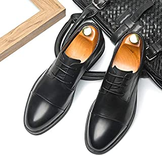 2019年 メンズビジネスシューズ 紳士靴 本革 レザー 牛革 ヨーロピアン レースアップ ストレートチップ 1色 ブラック DL20