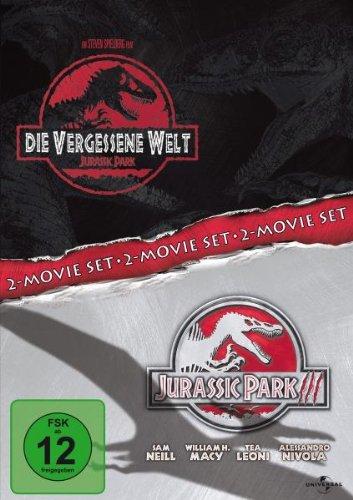 Die vergessene Welt: Jurassic Park / Jurassic Park III [2 DVDs]