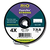Rio Fishing Products FLUOROFLEX Strong Tippet 30YD 3X
