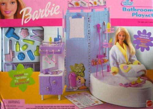 Barbie All Around Home Bathroom Playset (2001)