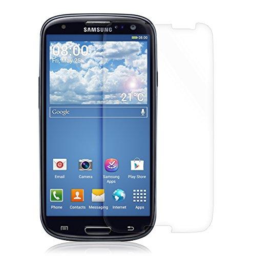 kwmobile Lámina Protectora de Pantalla Compatible con Samsung Galaxy S3 / S3...