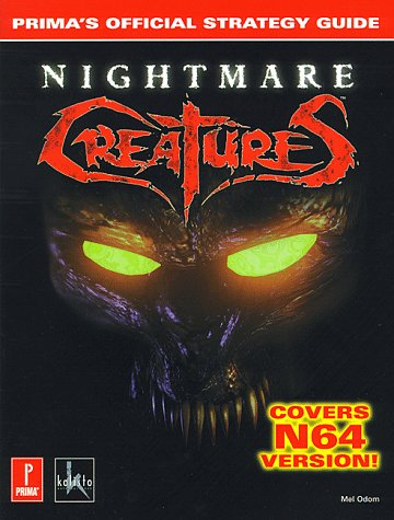 Nightmare Creatures 64: Prima's Official Strategy Guide