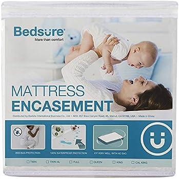 Bedsure Queen Size Mattress Protector Zippered Encasement