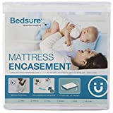 Bedsure Twin Mattress Encasement Zippered Waterproof Mattress Protector Bed Bug Proof Hypoallergenic Up to 12 inches